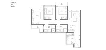 Midown-Modern-floor-plans-3-bedroom-type-C1