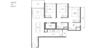 Midown-Modern-floor-plans-3-bedroom-type-C2