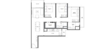 Midown-Modern-floor-plans-3-bedroom-type-C3