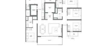 Midown-Modern-floor-plans-4-bedroom-type-D1