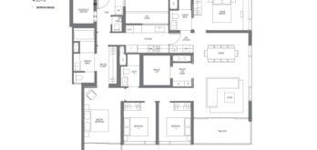 Midown-Modern-floor-plans-4-bedroom-type-D3